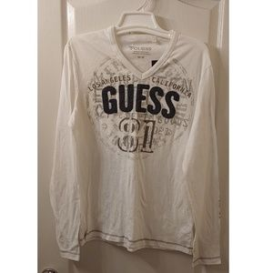 Long sleeve Guess shirt